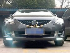 LED Daytime Running Lights DRL LED Front Bumper Fog Lamp for Mazda 6 Rui YI 1:1