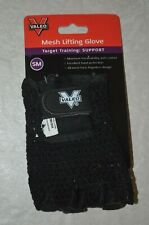 NEW Valeo Mesh Lifting Gloves Small Target Training Support Gym Fitness Weight