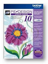Pe design 10 Brother. Embroidery Software