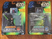 Star Wars Electronic Power F/X Emperor Palpatine & Luke Skywalker New Sealed
