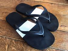 Orlebar Brown — Black & White Mens Flip-flops - UK7/8 - RRP £50 Minty! NR!!