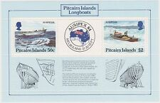 (K32-21) 1984 Pitcairn Islands AUSIPEX M/S Stamp Expo Melbourne MUH