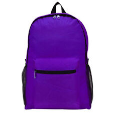 MSV Foldable Travel Backpacks Casual Daily Bag 2D-03 (Violet)