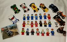 LEGO Speed Racers Booster Lot (7 Cars, 2 Bikes, 21 Minifigures, Instructions