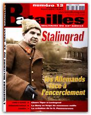 Stalingrad, Chars Tiger, Tchouikov, campagne de Tunisie, Batailles n° 13