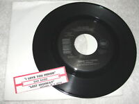 "Dan Baird ""I Love You Period/Lost Highway"" 45 RPM, 7"" Single, 1992, +Jukebox Tab"