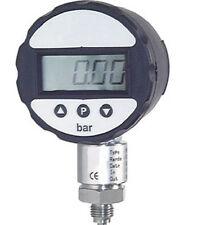 DIGITAL ACERO inox. Manómetro 0/2000 bar con batería-CLASE 0,5