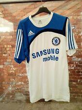 Chelsea Football Club Samsung Mobile ADIDAS coton Training T-shirt UK 36/38 très bon état