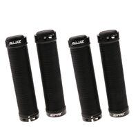 4x Cycling Bike Handlebar Lock-on Grips Silicone MTB Fixed Gear Grips 22.2mm