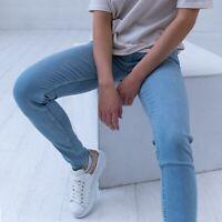 Levi's 710 Super Skinny Winning Streak hellblau Damen Jeans DE 38 / W30 L32