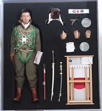 "DID Action Figure SPECIALE MARINA MILITARE GIAPPONESE ZERO PILOT 1/6 12"" in scatola ww11 Dragon"