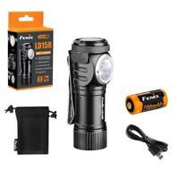 Fenix LD15R 500 Lumen Right Angle White & Red LED Rechargeable Mini Flashlight