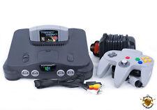 Nintendo 64 N64 Console De Jeu Rétro Bundle Avec Parfait Dark! UK PAL