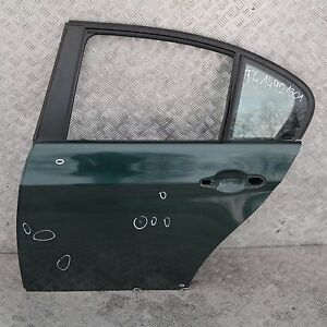 BMW 3 SERIES E90 E90N Door Rear Left N/S Tiefgruen Deep Green Metallic - A43