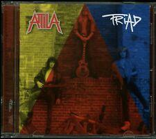 Attila Triad CD new Thrash reissue