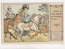 Randolph Caldecott Ride A Cock Horse To Banbury Cross Vintage Postcard 191b