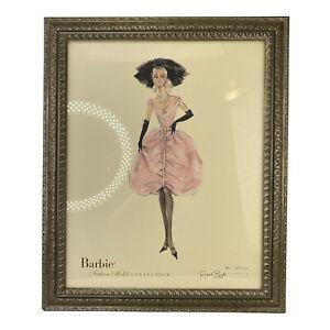 2007 Barbie Blush Ltd. Fashion Model Collection Robert Best Art Framed w/ COA