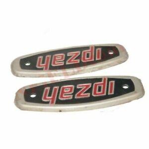 New Aluminium Made Motorcycle Tank Badge Motif Emblem Monogram Jawa Yezdi ECs
