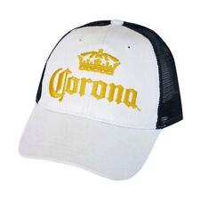 Corona trucker cap Navy Blue mesh back / yellow logo