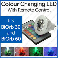 Led Light Bulb For Biorb 30 & 60 Biube With Colour Change Remote *SALE*