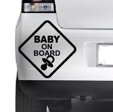 BABY On Board Divertente Finestrino Paraurti Auto muro JDM VW In Vinile Decalcomania Adesivo COOL