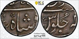 India British Bombay Presidency 1/2 Rupee PCGS XF45 Silver Registry Coin KM211.1