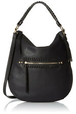 Jessica Simpson Angie Top Zip Hobo Shoulder Bag - Black