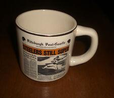 1976 STEELERS SUPER BOWL X CHAMPIONS COFFE MUG