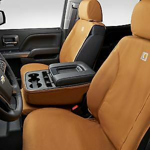 2015-2022 Colorado Canyon Carhartt Front Seat Covers 84301777 Brown OEM GM
