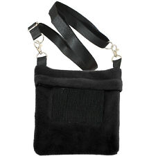 Economy Carry Pouch (Black) - Sugar Glider, Squirrel, Marmoset, Hamster, Mouse