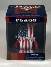 "Disney 3"" Vinylmation Flags Series USA Red White Blue America"
