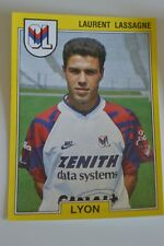 PANINI VIGNETTE STICKERS FOOTBALL FOOT 92 N°103 OL LYON LAURENT LASSAGNE