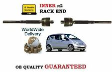 FOR MERCEDES A140 A160 A170 A190 A210 1998-2004 NEW 2 INNER RACK TIE ROD END SET