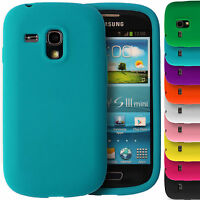 Soft Silicone Case for Samsung Galaxy S3 Mini i8190 S III Gel Rubber Grip Cover