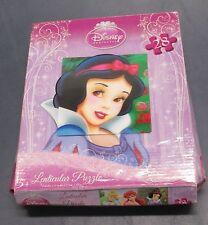 "NEW Disney Princess ""Lenticular Puzzle"" 28 pc. Ages 5+ Box Damaged"
