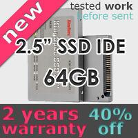 """KingSpec 2.5"""" IDE PATA SSD MLC Hard Drive 44pin 64GB NEW"""