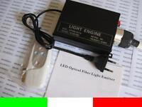 LED ENGINE 9W RGB PER KIT FIBRA OTTICA EMETTITORE LUCE PER CIELO STELLATO