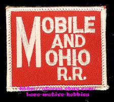 LMH Patch  MOBILE & OHIO Railroad  M&O Railway  pre GULF GM&O GMO Merger  10 LOT