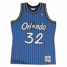 Mitchell   Ness Blue Orlando Magic Shaquille O neal Swingman Jersey XL 7737b1c5d