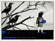 Jack White Stripes Poster 6/7/2018 Henrietta NY Signed & Numbered #/290