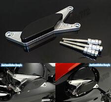 Argento Motore Copertura Statore Slider Protezione Per SUZUKI GSXS GSX-S 1000 F
