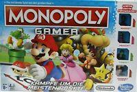 Nintendo Monopoly Gamer Mario Brettspiel Gesellschaftsspiel Deutsch * Unbespielt