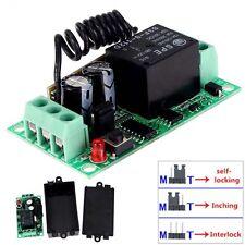 DC12V 10A Relais 1CH sans fil Commutateur Remote Control émetteur + récepteur DC