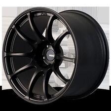 MIRO 563 18X9.5 +34 5x114.3 BLACK RIM FIT STI 240SX TL RX7 RX8 G35 G37 350Z 370Z