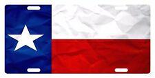 TEXAS STATE Flag Custom License Plate AMERICAN Emblem PAPER Version