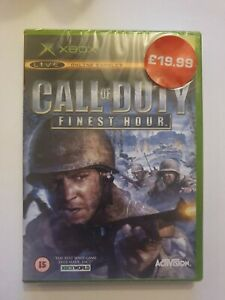 Call of Duty Finest Hour Xbox New and Sealed