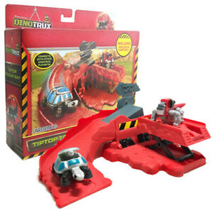 Mattel Dinotrux Tiptop Toolin' Bay Includes Waldo & Tortool Dreamworks Toy Box