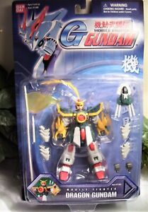 DRAGON GUNDAM-2002 BANDAI CORP.  IN BOX.