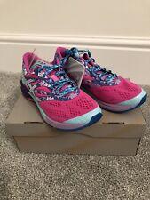 Asics Gel Noosa Tri 10-Rosa-Mujeres Tenis para Correr-Reino Unido 5-Nuevo En Caja
