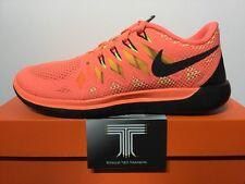 """Nike Free 5.0 """"Bright Mango"""" ~ 642199 800 ~ U.K. Size 5.5 ~ Euro 39"""